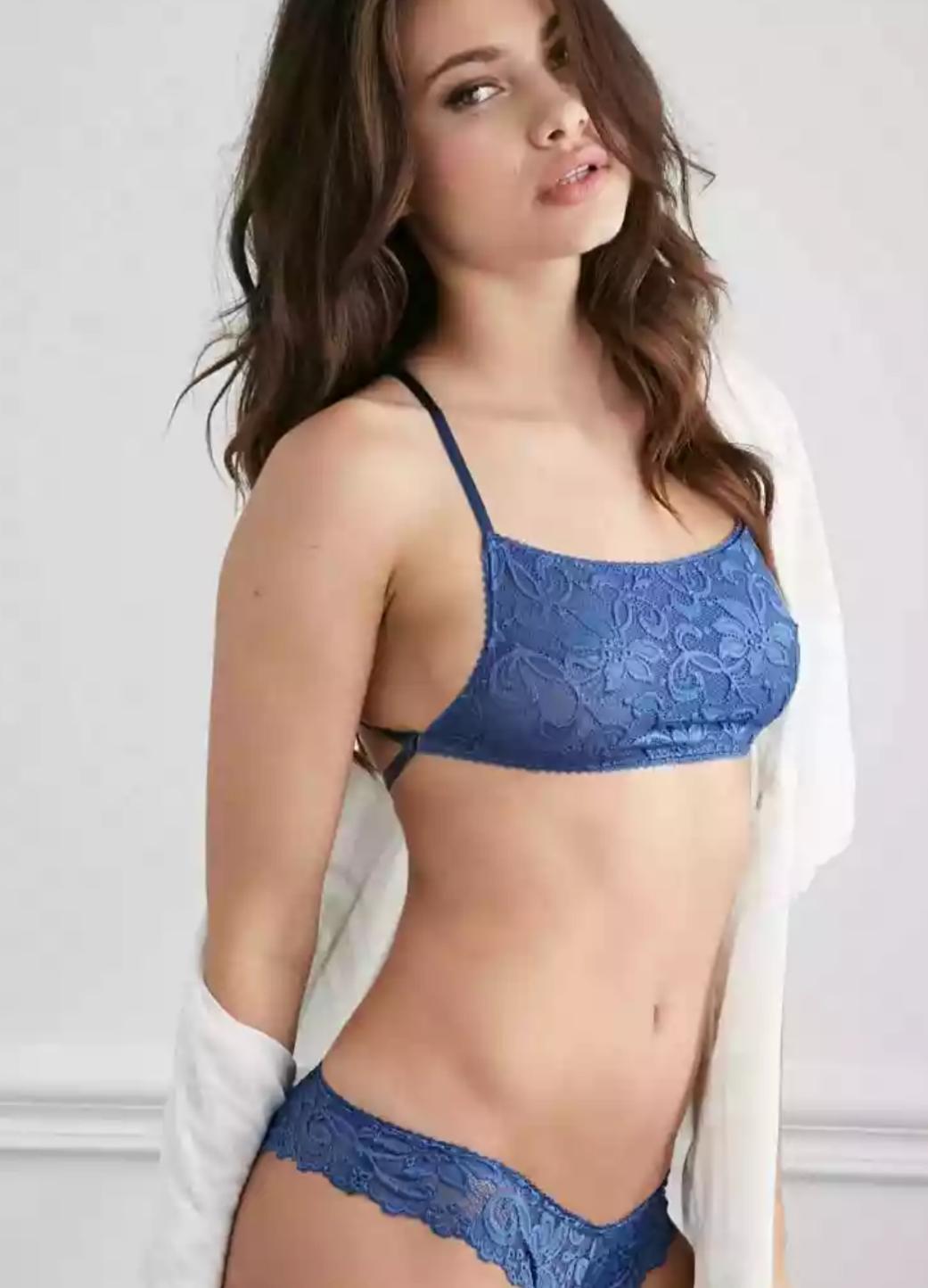 Gorgeous bra model